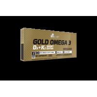 Gold Omega 3 D3 + K2 Sport Edition (60капс)