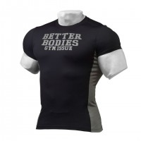 Футболка Better Bodies Tight Fit Tee, Black/Grey