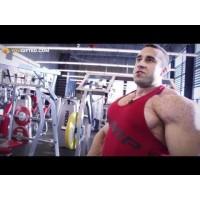 Сергей Базаров. Тренировка груди.