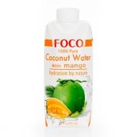 Foco кокосовая вода с манго (330мл)