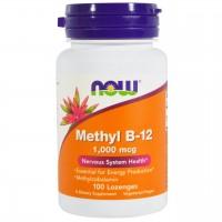 B-12 Метилкобаламин, 1000 мкг (100таб)