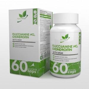 Glucosamine Chondroitin, MSM (60капс)