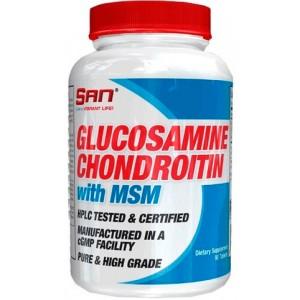 Glucosamine Chondroitin with MSM (90капс)