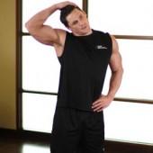 Растягивание мышц шеи в стороны