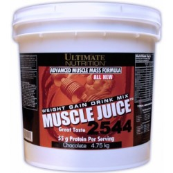 Мнение о гейнере «Muscle Juice 2544» компании Ultimate Nutrition